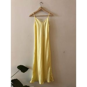 Zara midi cami dress